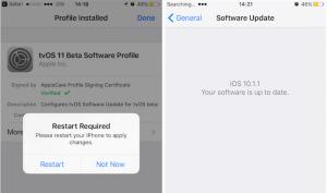 iphone ios güncelleme kapatma