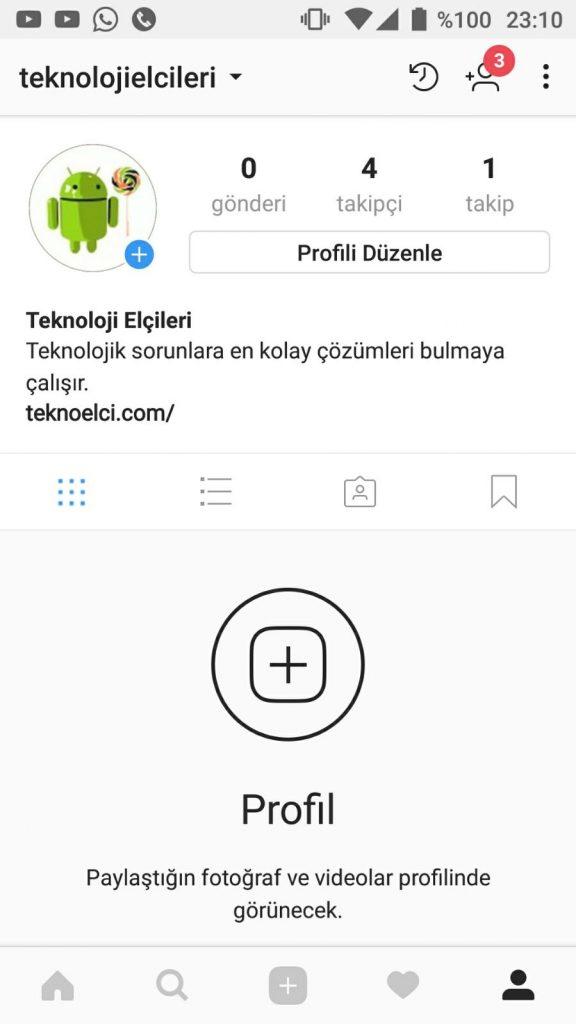 instagram tek bir fotoğrafı gizleme