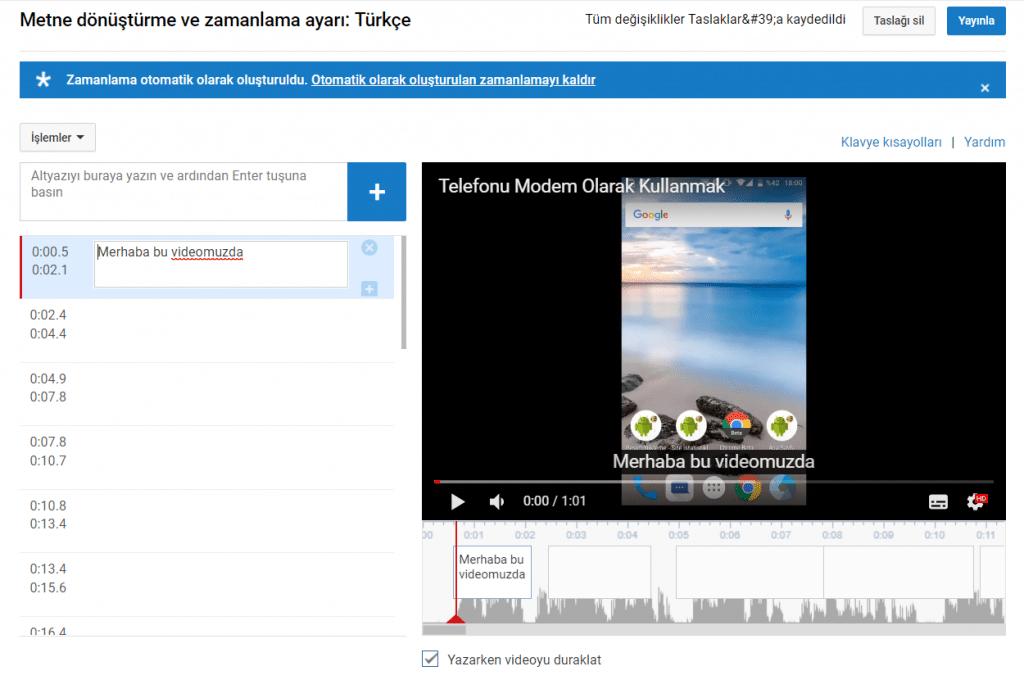 Youtube'a nasıl altyazı eklenir