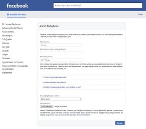 60 gün geçmeden isim değiştirme hilesi facebook