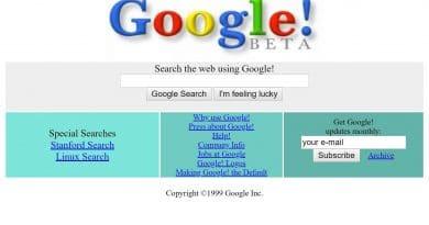 internet sitelerinin eski halleri