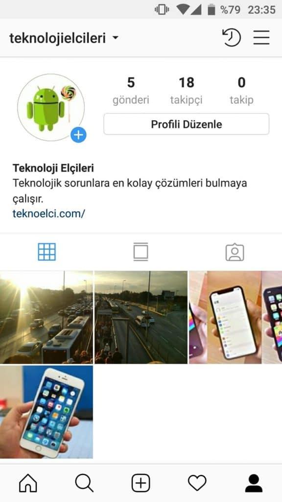 instagram parçalı square photo yapma