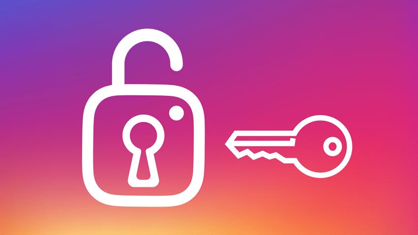 instagram hesabını güven altına alma