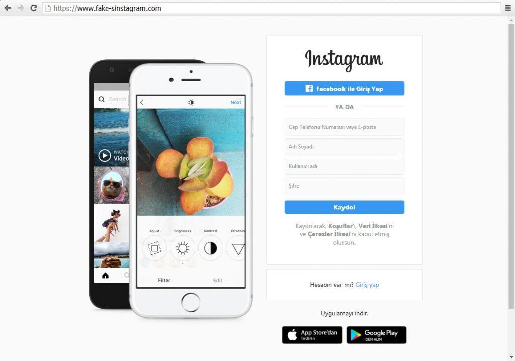 instagram hesapları çalma yöntemi